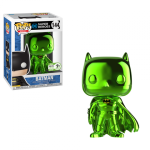 Pop! Heroes: Emerald Chrome Batman (1500pc LE)