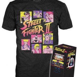 Pop! Tees: Street Fighter II (1000pc LE)